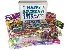 1975 40th Birthday Gift Basket Box Retro Nostalgic Candy From Childhood Jr Woodstock Candy http://www.amazon.com/dp/B000SJO78Y/ref=cm_sw_r_pi_dp_LDxVub04557JB