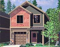 Modern Northwest Narrow House Design By Studio Sm