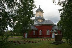 Ullava church. Central Ostrobothnia province of Western Finland - Keski-Pohjanmaa