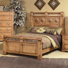 Diamonte Queen Bed by Progressive Furniture