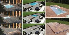 10 Most Amazing Hidden Water Pools Pool Diy, Small Backyard Pools, Small Pools, Pool Decks, Hidden Water Pool, Porches, Online Home Design, Moderne Pools, Hot Tub Deck
