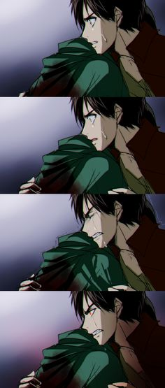 Eren & Levi  You've hit his Berserk Button<------ this is where i died laughing!!!