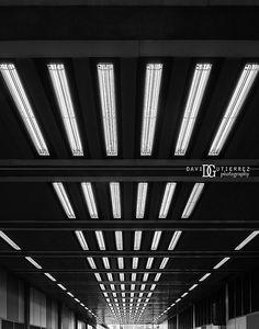 Beech Street Tunnel, Barbican Estate, London, UK. Image by David Gutierrez Photography, London Photographer specialising in architectural, real estate, property and #interior photography.   http://www.davidgutierrez.co.uk   #realestate #property #commercial #architecture #London #Photography, #Photographer. #Art #UK #City #Urban  #ロンドン #伦敦 #런던 #лондон #Londres #Londra #Londyn #England #UnitedKingdom #LondonUnderground #Beautiful #BlackAndWhite #Monochrome #Tunnel #Street