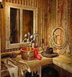 Western Bath Decor