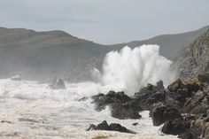 Crashing surf during tropical storm Leslie in Marystown, NL on Sept. 11, 2012. Photo by Clyde Hooper.