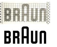 Braun Logo, created by Wolfgang Schmittel, 1952. _ #Design #Form & #Function #Braun