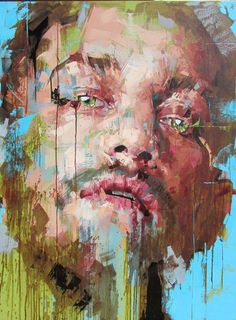 Image result for expressive portrait painting