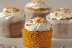 One of the best Pumpkin Cupcakes I'd ever had.  From Joyofbaking.com With Demo Video