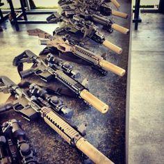 A Whole Bunch of Super Heavy, Unpractical, Weapons Guns, Airsoft Guns, Guns And Ammo, Sniper Gear, Tactical Gear, Rifles, Ak47, Winchester, Gun Vault
