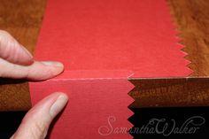 Samantha Walker's Imaginary World: Silhouette Tutorial! How to make Bendy (Bendi) cards!