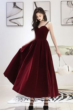 Grey Evening Dresses, Elegant Dresses, Pretty Dresses, Beautiful Dresses, Formal Dresses, Wedding Dresses, Long Dresses, Tea Length Bridesmaid Dresses, Burgundy Bridesmaid Dresses