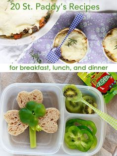 In your lunch box: Happy St. Paddy's Day! Delish ideas from Yummy Mummy for St. Patrick's Day: http://bit.ly/ZgT2FY