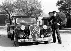Traction Avant Gendarmerie