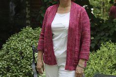 Miriam Cardi by Carrie Bostick Hoge. malabrigo Arroyo, English Rose colorway.