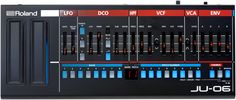 4-voice Synthesizer Module and 24-bit/44.1kHz USB Audio Interface, with 1 Oscillator, 2 Filters, 1 LFO, 1 Envelope, 16-step Sequencer, and MIDI I/O