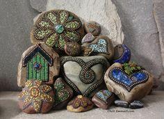garden pebble mosaic - Google Search