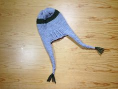 How to Loom Knit an Ear Flap Hat (DIY Tutorial) different ear flap