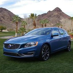 Behind the wheel of the brand's new sport wagon featuring the fully redesigned Drive-E engine