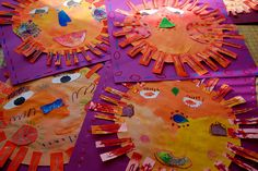 Painted Paper - Fun folk art commonly found in the Mexican Martketplace