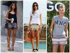 4 Combinações para inspirar seus looks de verão   short bordado
