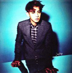 "HQ [scans] EXO's ""Overdose"" album - Chanyeol"