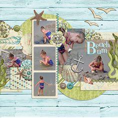 Beach Bum - Scrapbook.com