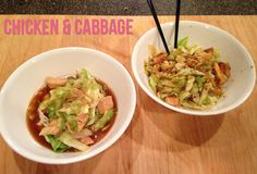 HCG Phase 2 Recipe: Chicken and Cabbage 2 ways