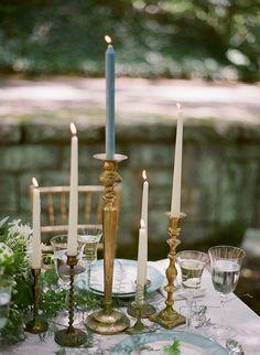 like the use of different candlesticks #weddingcandlestick