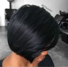 "For hair replacement or alopecia customers, this look is best achieved with ""The Bob Unit"" in our signature Relaxed Texture Salon. To take a hair loss consultation www. African Hairstyles, Girl Hairstyles, Black Hairstyles, Trendy Hairstyles, Weave Hairstyles, Short Hair Cuts, Short Hair Styles, Bob Styles, Locks"