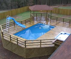 Above Ground Pools with Decks – It's easy to guess why above ground pools with decks are so hype: they are affordable, easy and fast to install, and require minimal maintenance. Above ground pools with decks will create a pleasant ... Read more...