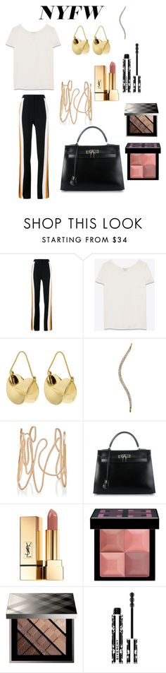 """""""N54"""" by annedego ❤ liked on Polyvore featuring STELLA McCARTNEY, Yves Saint Laurent, Anissa Kermiche, Repossi, Hermès, Givenchy and Burberry"""