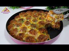 ΝΟΣΤΙΜΟ! Η αγαπημένη γεμάτη συνταγή ντόνατ της οικογένειάς μου. 😍 μεσημεριανό γεύμα ή δείπνο - YouTube Mince Recipes, Donut Recipes, Beef Recipes, Cooking Recipes, Healthy Recipes, Indian Pizza, Turkish Recipes, Ethnic Recipes, Best Bread Recipe