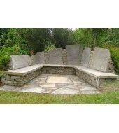 Outdoor Stone, Stone Bench, Mint, Patio, Outdoor Decor, Home Decor, Decoration Home, Terrace, Room Decor