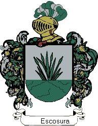 Escudo del apellido Escosura