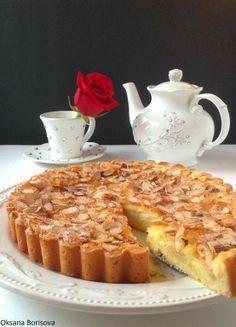 Яблочно-Миндальный тарт