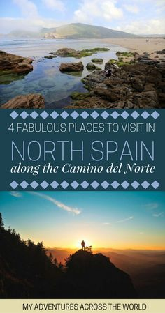 Oh Spain, why are you so beautiful? With such a variety of different landscapes and cities, it might be hard to decide where to go in Spain! Check out these 4 fabulous places to visit in North Spain along the Camino del Norte and find out what are the unmissable places to visit in Spain + tons of Spain travel tips. It includes the regions of Cantabria, Galicia, Basque Country and Asturias. #spaintravel #spain - via @clautavani