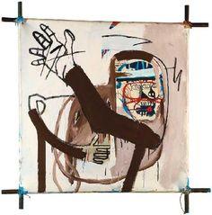 Jean- Michel Basquiat - Urban Art - Underground Style - Neo Expressionism - Cantasso - 1982