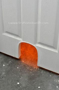 Installing a cat door doors cat and easy diy cat potty door planetlyrics Choice Image