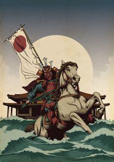 Samurai - Japanese Warrior Art