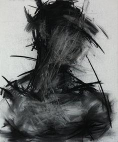 Il rêve qu'il dort ... Art Sketches, Art Drawings, Pencil Drawings, Drawing Faces, Hipster Drawings, Hipster Art, Art Noir, Charcoal Paint, Arte Obscura