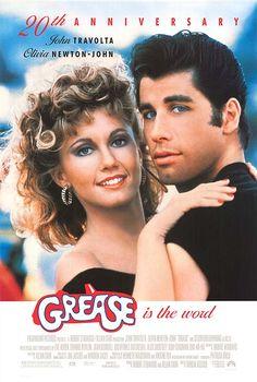 Grease. Starring: John Travolta & Olivia Newton John