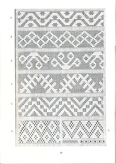 Embroidery Patterns, Hand Embroidery, Crochet Patterns, Cross Stitch Geometric, Ukraine, Thread Work, Knitting Charts, Filet Crochet, Ornaments