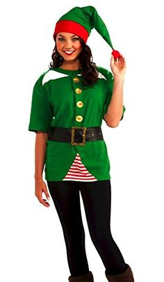 Mrs Elf Fancy Dress Costume | Women | George at ASDA u2026 | christmau2026  sc 1 st  Pinterest & I TOTALLY WANT THIS!!! Mrs Elf Fancy Dress Costume | Women | George ...