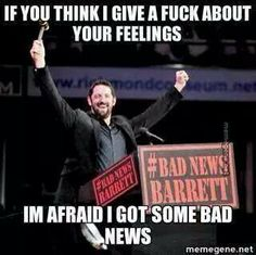 Bad News Barrett l WWE