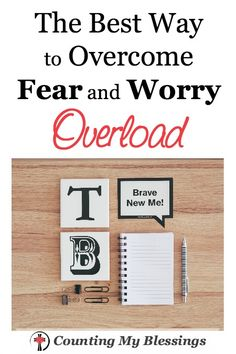 If fear and worry were sports I'd Olympic medals. Little fears. Big ones. Things beyond my control. Maybe you're there too. Maybe you're ready for a change. Read this to find out what helped me.