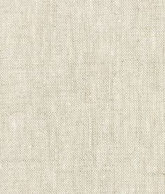 Mrs Yancy used this to make all her curtains.  Oatmeal Irish Linen
