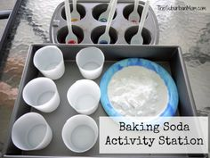 10 Baking Soda Experiments, Crafts And Activities For Kids - TheSuburbanMom Wild West Crafts, Baking Soda Experiments, Activities For Kids, Crafts For Kids, Baking Soda Uses, More Fun, Volcano, Gold Rush, Cub Scouts