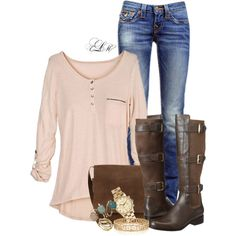 """If It Isn't Gonna Snow Bring On Spring!"" by tmlstyle on Polyvore"