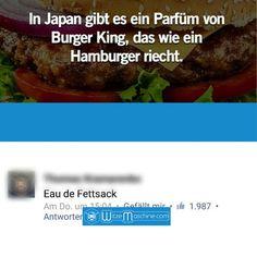 Lustige WhatsApp Bilder und Chat Fails 130 - Hamburger-Parfüm