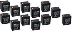 12V 4.5AH SLA Battery Replaces nph5-12 hr1221wf2 wp5-12 23-289b bp4-12 – 12 Pack